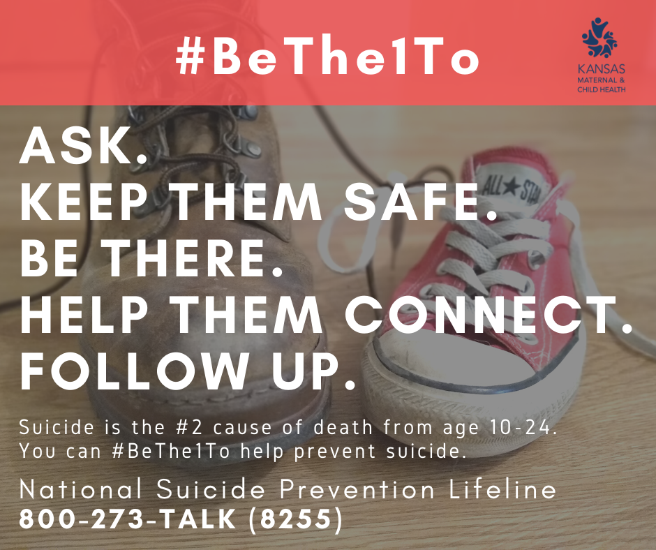 Five #BeThe1To steps graphic