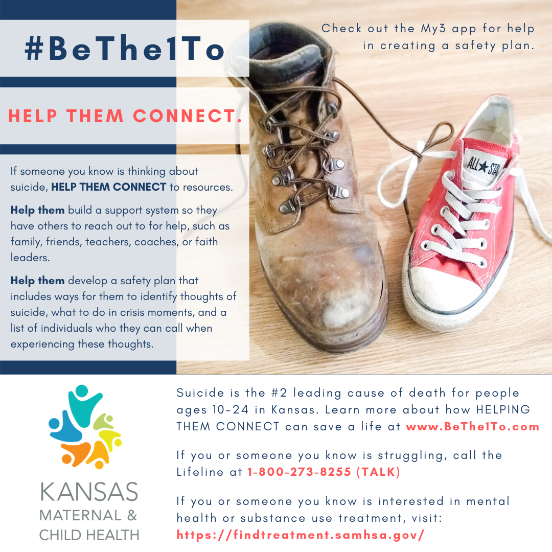 Help them connect graphic