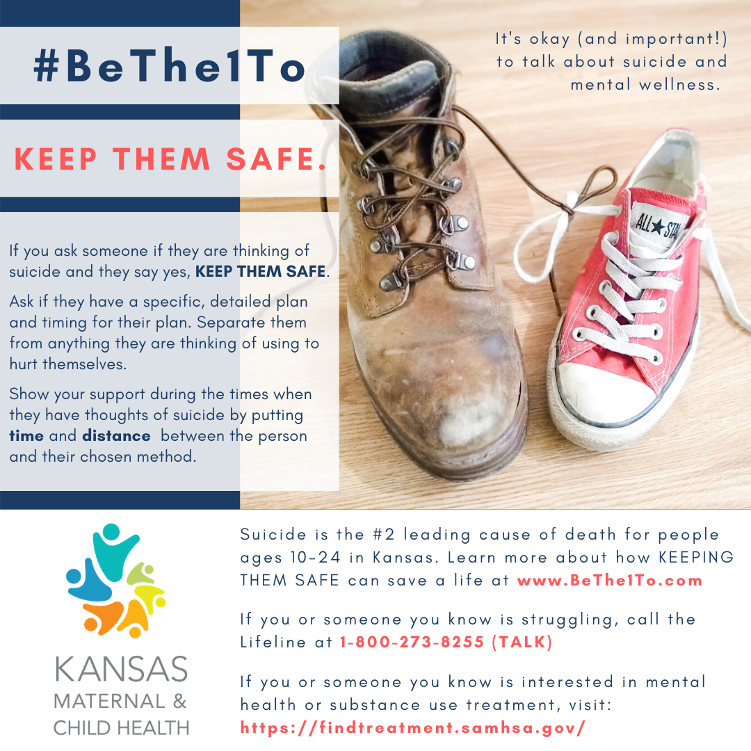 Keep them safe graphic