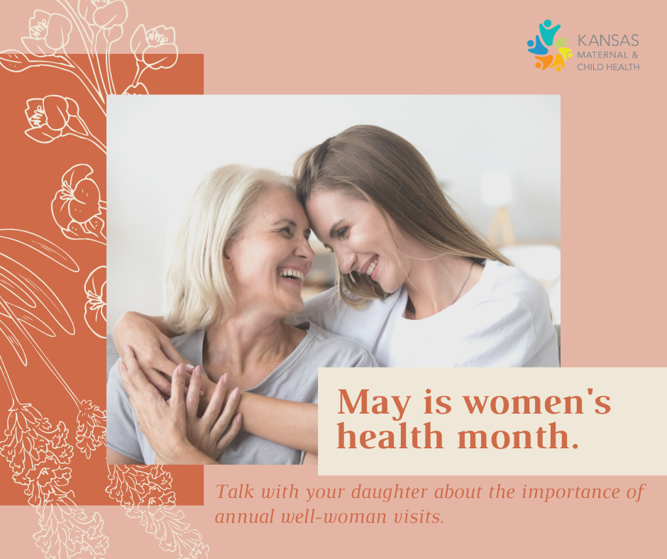 Women's Health Month and Well-woman Visits Action Alert
