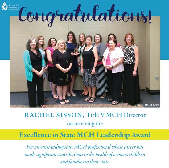 Congratulations Rachel Sisson