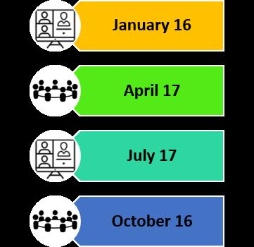 Council Meeting Dates